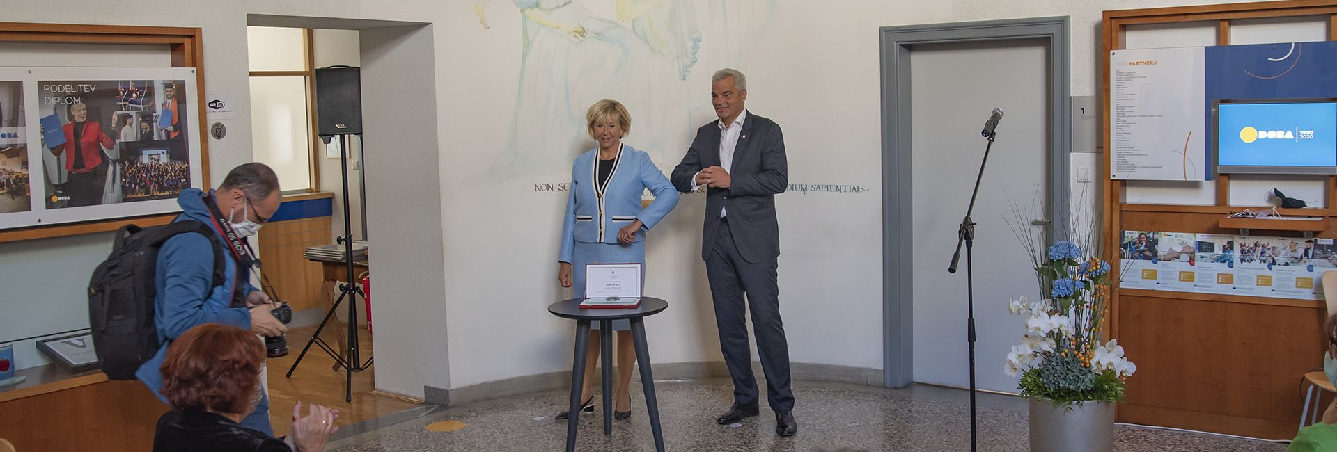 On the Occasion of the 30th Anniversary of DOBA, the Mayor of Maribor Awarded DOBA with the City Seal of Maribor
